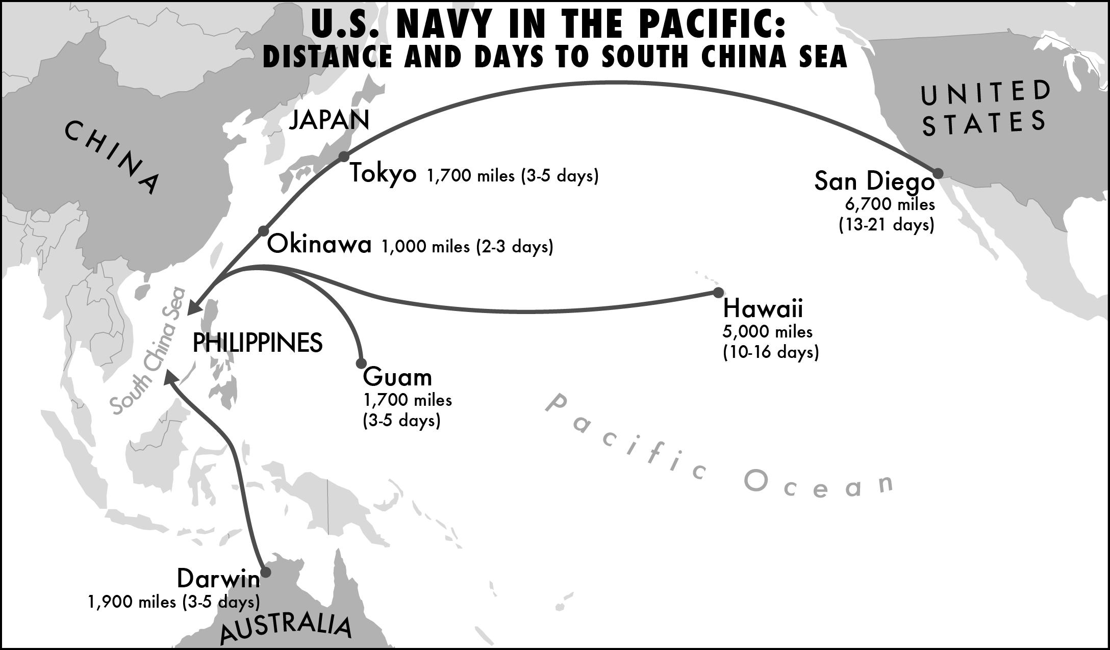 Soren walljasper map of naval travel times to south china seas gumiabroncs Gallery